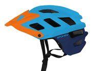 Spokey SINGLETRAIL Cyklistická přilba pro dospělé IN-MOLD, 58-61 cm, modrá