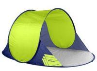 Spokey ALTUS Samorozkládací plážový paravan, 195x120x85 cm - zelený