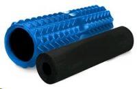 Spokey MIX ROLL fitness masážní válec 2v1, modro-černý